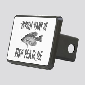 FISH FEAR ME Rectangular Hitch Cover