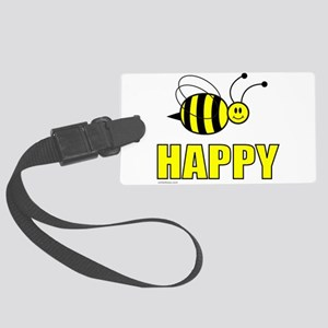 BEE HAPPY Large Luggage Tag