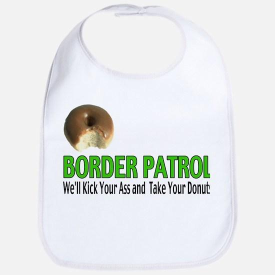 Border Patrol Kick Ass Bib