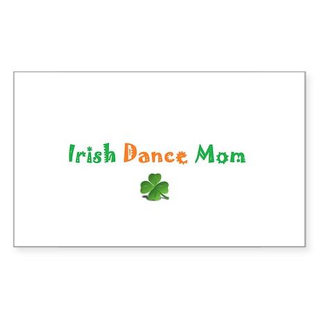 Irish Dance Mom Sticker (Rectangle)