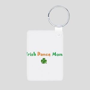 Irish Dance Mom Aluminum Photo Keychain