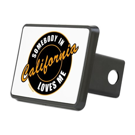 CALIFORNIA Rectangular Hitch Cover