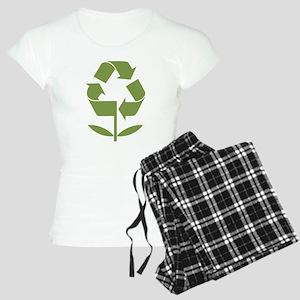 Recycle Flower Women's Light Pajamas