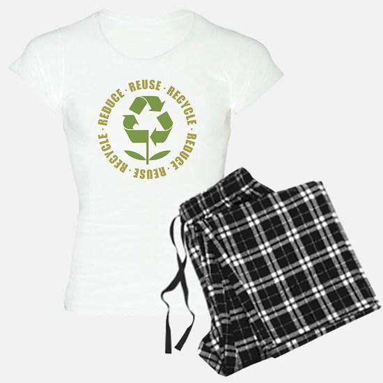 Reduce Reuse Recycle Pajamas