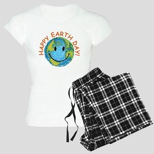 Happy Earth Day Women's Light Pajamas