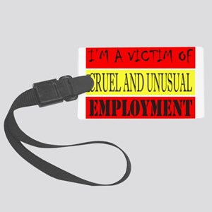 JOB/EMPLOYMENT/CAREER Large Luggage Tag