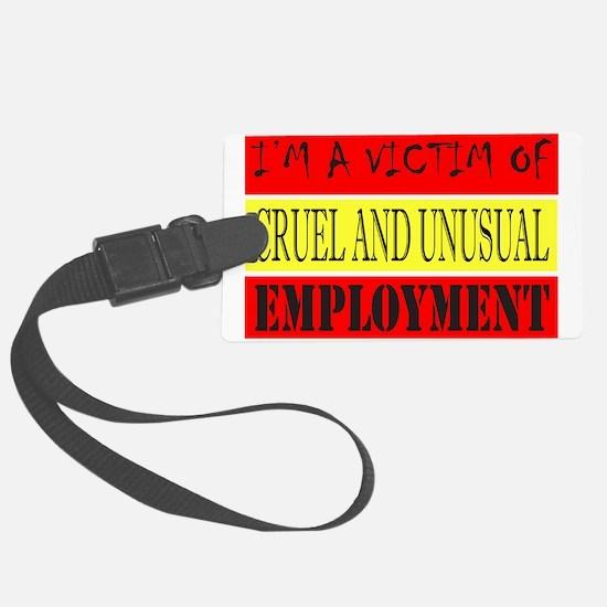 JOB/EMPLOYMENT/CAREER Large Luggage Tag