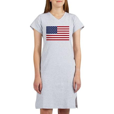 American Flag Women's Nightshirt