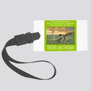 LOCH NESS/NESSIE Large Luggage Tag