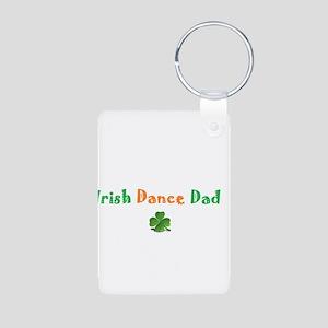 Irish Dance Dad Aluminum Photo Keychain