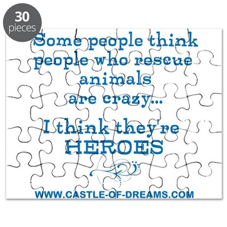 Rescue Heroes-Blue Puzzle