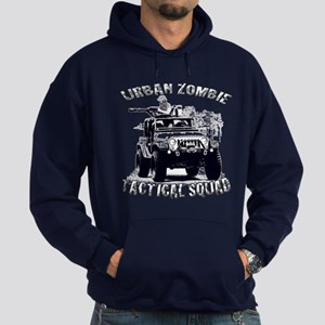 Urban Zombie Tactical Squad Hoodie (dark)