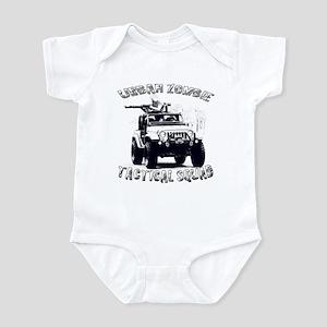Urban Zombie Tactical Squad Infant Bodysuit