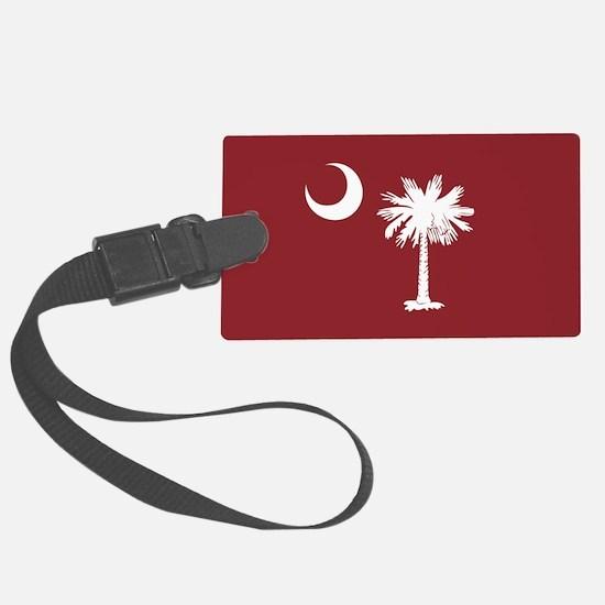 South Carolina Palmetto Moom Flag Luggage Tag