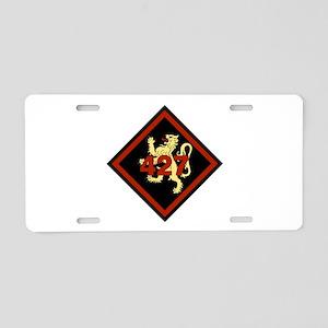 427 SOAS (4) Aluminum License Plate
