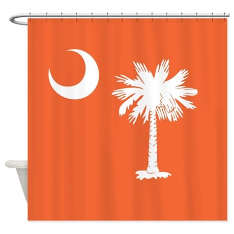 Beautiful SC Palmetto Moon Shower Curtain