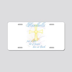 Little Bit of Heaven Aluminum License Plate