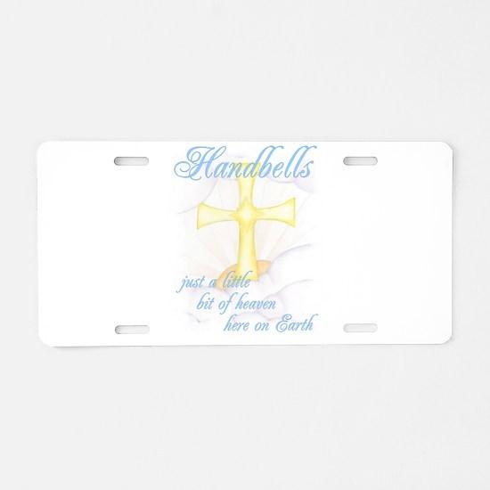 Little Bit of Heaven Aluminum License Plate