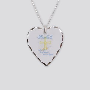 Little Bit of Heaven Necklace Heart Charm