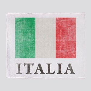 Vintage Italia Throw Blanket
