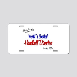 worlds greatest director Aluminum License Plat