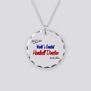 worlds greatest director Necklace Circle Charm