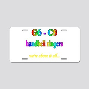 g6-c8 Aluminum License Plate
