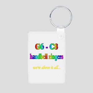 g6-c8 Aluminum Photo Keychain