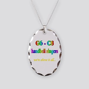 g6-c8 Necklace Oval Charm