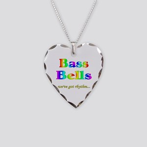 Bass Bells Necklace Heart Charm