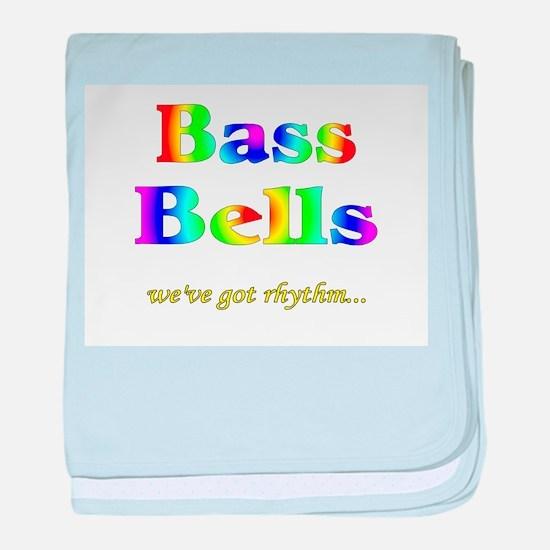 Bass Bells baby blanket
