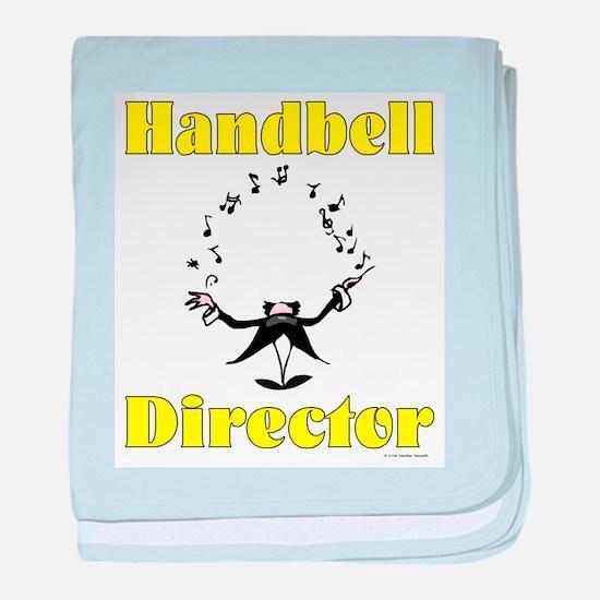 Handbell Director big.jpg baby blanket