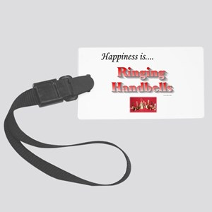 Happiness Is... Large Luggage Tag