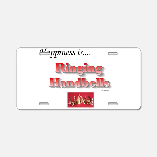 Happiness Is... Aluminum License Plate