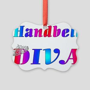 Handbell Diva Picture Ornament