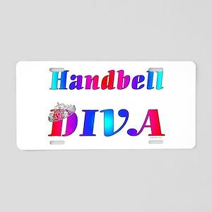 Handbell Diva Aluminum License Plate