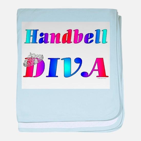 Handbell Diva.jpg baby blanket