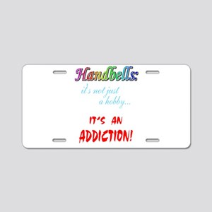 addiction Aluminum License Plate