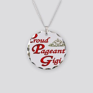 Pageant Gigi Necklace Circle Charm