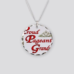 Pageant Grandma Necklace Circle Charm