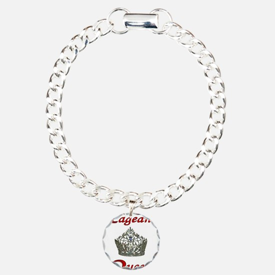 pageant queen tall white.jpg Charm Bracelet, One C