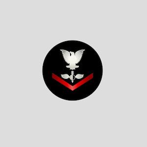 Navy PO3 Aerographer Mini Button