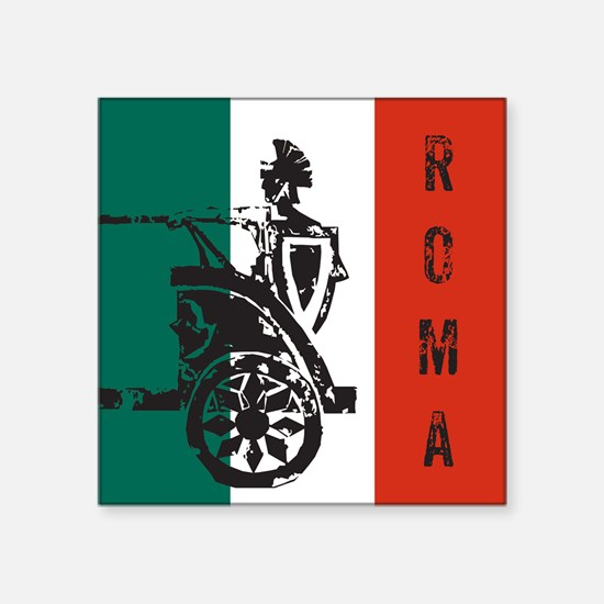"Roma Square Sticker 3"" x 3"""