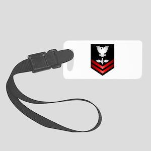 Navy PO2 Aerographer Small Luggage Tag