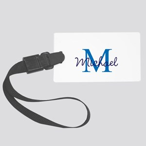 Personalize Initials and Name Large Luggage Tag