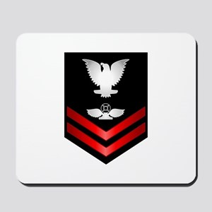 Navy PO2 Air Traffic Control Mousepad