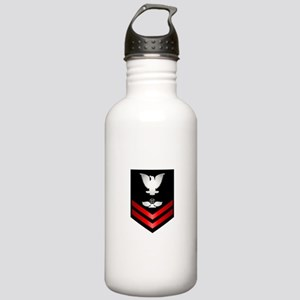 Navy PO2 Air Traffic Control Stainless Water Bottl