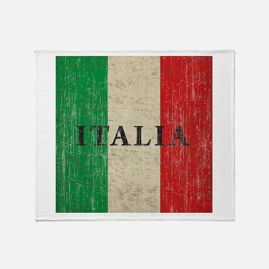Vintage Italia Throw Blanket