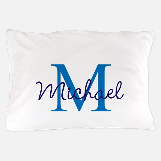 Personalize Initials and Name Pillow Case
