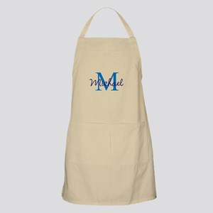 Personalize Initials and Name Light Apron